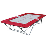 CLUB SIZE TRAMPOLINE 6MM WEB BED