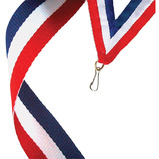 Tri-Colour Medal Ribbon