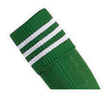 Prostar Mercury 3-Stripe Socks - Emerald/White