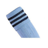 Prostar Mercury 3-Stripe Socks - Sky/Navy