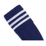 Prostar Mercury 3-Stripe Socks - Navy/White