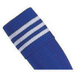 Prostar Mercury 3-Stripe Socks - Royal/White