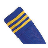 Prostar Mercury 3-Stripe Socks - Royal/Yellow