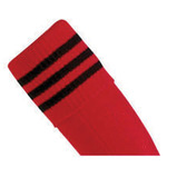 Prostar Mercury 3-Stripe Socks - Scarlet/Black