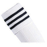 Prostar Mercury 3-Stripe Socks - White/Black