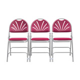 2600 Upholstered Folding Chair and Trolley Bundle Offer