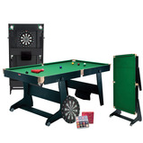 Folding 6' Snooker Table