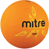 MITRE OASIS NETBALL PINK SIZE 4