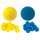 Yellow Lightweight Foam Balls