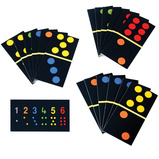 GIANT FLOOR DOMINOES SET OF 28