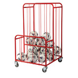 Mobile Ball Picker Storage Trolley