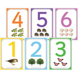 A6 Number Cue Cards