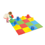 4X4 MULTICOLOUR SQUARE MAT&BLOCK SET