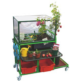 Garden Trolley and Greenhouse Cover