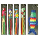 WINDSOCK - SET OF 5