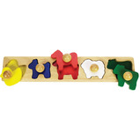 ANIMAL SORTING BOARD PUZZLE