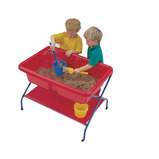 RED ROCK PLAY TABLE WITH LID & STAND