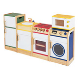 MULTICOLOURED KITCHEN RANGE 5PC SET
