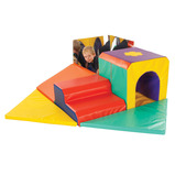 PLAYRING TUNNEL/MIRROR SOFT PLAY SET