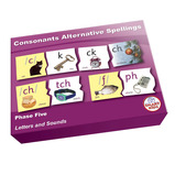 Alternative Spelling Puzzles - Letters and Sounds Series