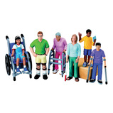 BLOCK PEOPLE DOLLS WITH DISABILITIES