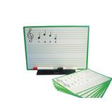 MUSIC SCORE BOARD A4 PACK 30