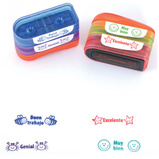 SCHOOL MULTI STAMP STACK SPANISH