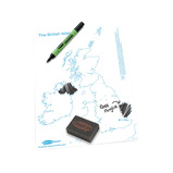 A4 UK D/W BOARDS/PENS/ERASERS PK35