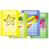 A6 Multi-Image Reward Chart Pads