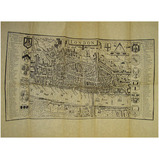 Maps of Tudor London before the Fire (1595) and from 1666