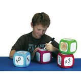 Magnetic Write On/Wipe Off Dice