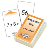 Multiplication x6-x9 Chute Cards