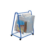 Mobile Hanging Bag Rack