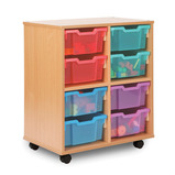 Allsorts 8 Deep Tray Storage Unit