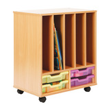 Allsorts Shallow Tray Big Book Storage Unit