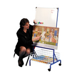 Magnetic Board & Storage Trolley