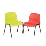 Value Affinity Classroom Chairs - Red, Green and Purple