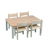 RECT TABLE 690X960400MM BEECH