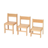 Beech Stacking Chairs