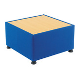 Value Glacier Upholstered Reception Table