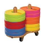 Donut Cushions with Trolleys