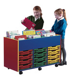 Colour My World Kinderbox 12 Shallow Tray Unit