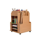 ART STORAGE TROLLEY