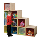 Trudy 10 Colourbox Storage Wall