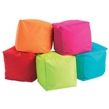 Cube Bean Bag Set of 5 Offer