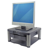 FELLOWES MONITOR RISER PLUS GRAPHITE