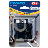 DYMO D1 TAPE 12MM BLACK ON WHITE
