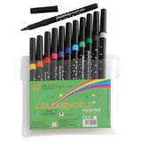 Colourworld Recycled Fibre Tip Pens