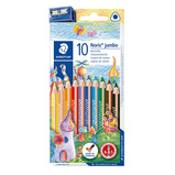 STAEDTLER TRIPLUS COLOUR PENCIL PK10