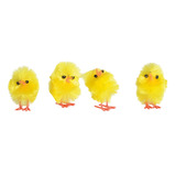 PACK OF 36 FLUFFY MINI CHICKS
